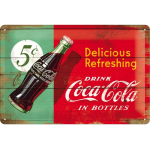 Nostalgic-Art Coca Cola Blechschild (20x30cm) um 6,04€ statt 10,03€