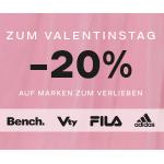Deichmann – 20% Rabatt auf reguläre Artikel von adidas, Bench, Vty, Victory und Fila (gratis Versand)