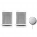 Sonos One Stereo Set + Google Nest Mini um 374,95 € statt 494,95 €
