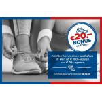 Hervis – 20€ Rabatt auf Laufschuhe ab 100€