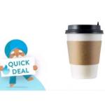0,80€ Cashback auf Coffee-to-go (Marktguru App)