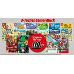 3 Nintendo Switch Games inkl. Versand um 119 € bei Media Markt