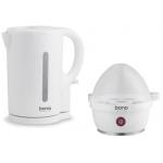 Bono Wasserkocher 1,7L + Eierkocher inkl. Versand um 10,98 €
