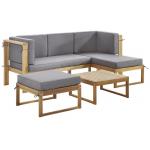 ambia Garden Loungegarnitur 4-teilig (Akazie) ab 252,58€ statt 599€