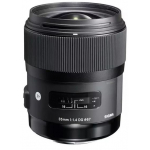Sigma Art 35mm 1.4 DG HSM Objektiv für Sony E um 542 € statt 779 €