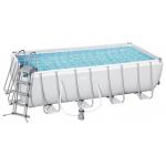 Bestway Power Steel Frame Pool 488x244x122cm um 450 € statt 1.077 €