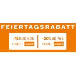 Deichmann – bis zu 20% Rabatt auf reguläre Ware + gratis Versand