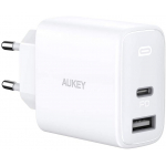 AUKEY USB-C PD Ladegerät 32W (2 Port) um 18,11 € statt 25,37 €