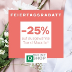 Deichmann – 25% Extra-Rabatt auf ausgewählte Trend Modelle