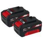 2x Einhell Power X-Change Akku 18V, 4.0Ah um 52,49 € statt 69,99 €