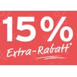 Eduscho – 15% Extra-Rabatt auf bereits reduzierte Artikel