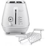 DeLonghi CTIN 2103.W Distinta Moments Toaster um 49 € statt 89 €