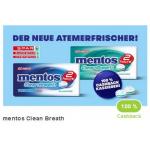 100% Cashback auf mentos Clean Breath (Spar, Eurospar, Interspar)