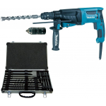 Makita HR2630TX Elektro-Bohr-/Meißelhammer inkl. Koffer + Zubehör um 189,99 € statt 241 € (Bestpreis)