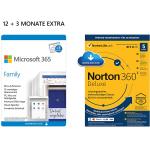 Microsoft 365 Family 15 Monate + Virenscanner um 52,99 € statt 107,20 €