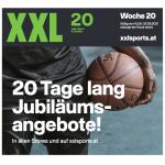 XXL Sports – 20 Jahre Jubiläum – 20 Tage Jubiläumsangebote!