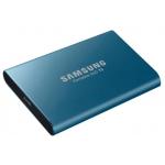 Samsung Portable SSD T5 blau 500GB, USB-C 3.1 um 54,99 € statt 76,60 €
