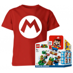 Super Mario Kinder T-Shirt + LEGO Starterset um 38,99 € statt 62,81 €