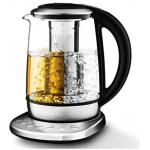 Aicook Glas Wasserkocher (1,7L, mit Temperatureinstellung, 2200W, Schnellkochfunktion, 120 Minuten Warmhalten) um 27,99 € statt 39,99 €