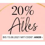 Alba Moda – 20% Rabatt ab 49,95 € Bestellwert (bis 30. Mai)