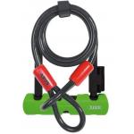 ABUS Bügelschloss Ultra Mini 410 + SH34-Halterung + Sicherungskabel Cobra 10/120 ab 24,71 € (Bestpreis)