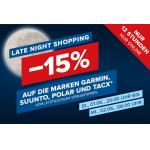 Hervis – 15% Rabatt auf die Marken Garmin, Suunto, Polar und Tacx