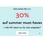 Orsay – 30% Rabatt auf summer must-haves + 11% Extra-Rabatt
