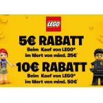Smyths Toys – 5 € Rabatt ab 25 € / 10 € ab 50 € auf Lego-Produkte