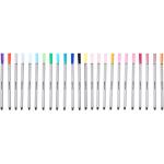 24x Amazon Basics Fineliner-Stifte (versch. Farben, 0,4 mm) um 4,50 €