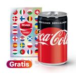 Coca-Cola Zero Mini Can & Panini Impossible Sticker kostenlos bei McD