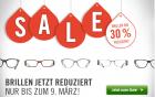 Brillensale mit bis zu -30% @ Misterspex.de