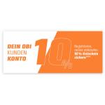 OBI – 10% Gutschein erhalten bei Erstellung eines Kundenkontos