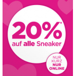 Reno Onlineshop – 20% Rabatt auf alle Sneaker + gratis Versand