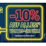 Metro – 10% Rabatt auf alles am 15. & 16. Juli von 19 bis 22 Uhr!