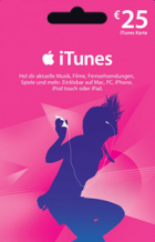 25€ iTunes Karte um 20€ @ Müller
