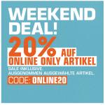 Snipes Weekend Deal – 25% Rabatt auf online only inkl. Sale!