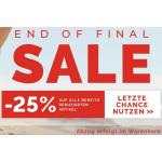 CECIL Onlineshop – 25% Extra-Rabatt auf bereits reduzierte Produkte
