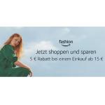 Amazon Fashion – 5€ Rabatt ab 15 € Einkaufswert