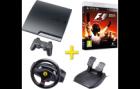 Super Sonntag: Sony Playstation 3 160GB, Ferrari GT Racing Wheel sowie F1 2011 für 277€ @Media Markt