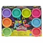 Hasbro Play-Doh Knete 8er-Pack Neonfarben um 5,01 € statt 12,72 €
