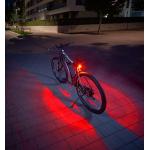 Fischer Twin Fahrrad-Rücklicht mit 360° Bodenleuchte um 7,36€ statt 13€