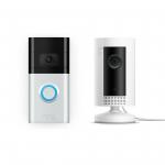 Ring Video Doorbell 3 + Ring Indoor Cam um 169 € statt 223,37
