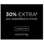 comma – 30% Extra-Rabatt auf ausgewählte Summer Styles