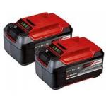 2x Einhell Power X-Change Akku 18V, 5.2Ah um 79,99 € statt 114,69 €
