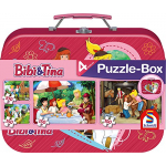 Schmidt Spiele Bibi und Tina Puzzle-Box (Metallkoffer) um 10,06 €
