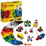 LEGO Classic – Steinebox mit Rädern (11014) um 29,03 € statt 38,45 €