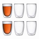 6x Bodum Pavina Glas 350ml (doppelwandig) um 38,30 € statt 61,03 €