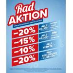 Hervis Rad-Aktion – bis zu 20% Rabatt (ab 15.09.)