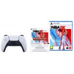 SONY DualSense™ Wireless Controller NBA 2K22 Schnellstart-Bundle + NBA 2K22 (Game) um 91 € statt 100,82 €