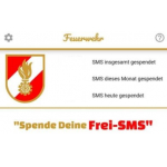 Frei-SMS Spenden und damit Feuerwehr unterstützen (bis zu 144 € / Jahr)